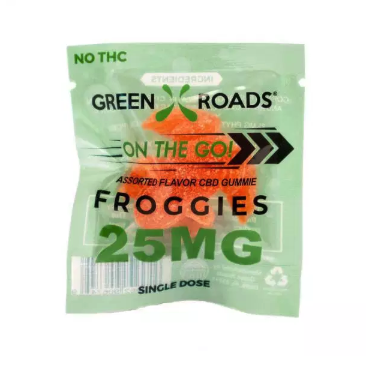 Green Roads CBD Froggies 25MG