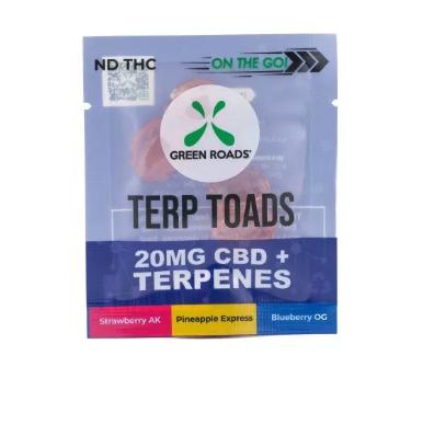 Green Roads Terp Toads 20MG