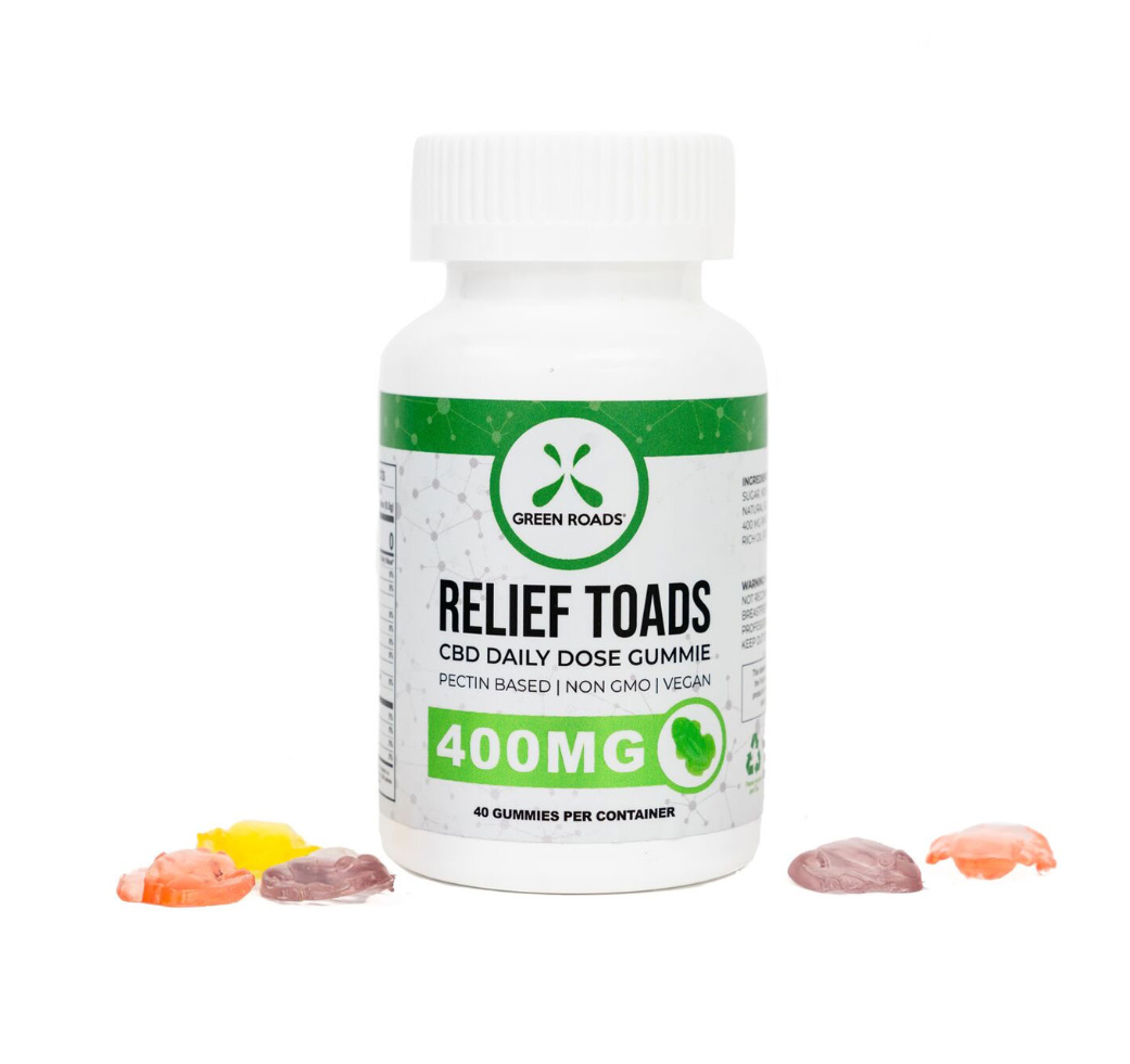 Green Roads Relief Toads 400MG