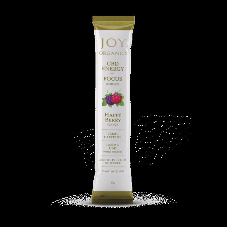 Joy Organics CBD Energy + Focus Drink Mix