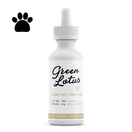 Green Lotus Tincture Pet 100mg
