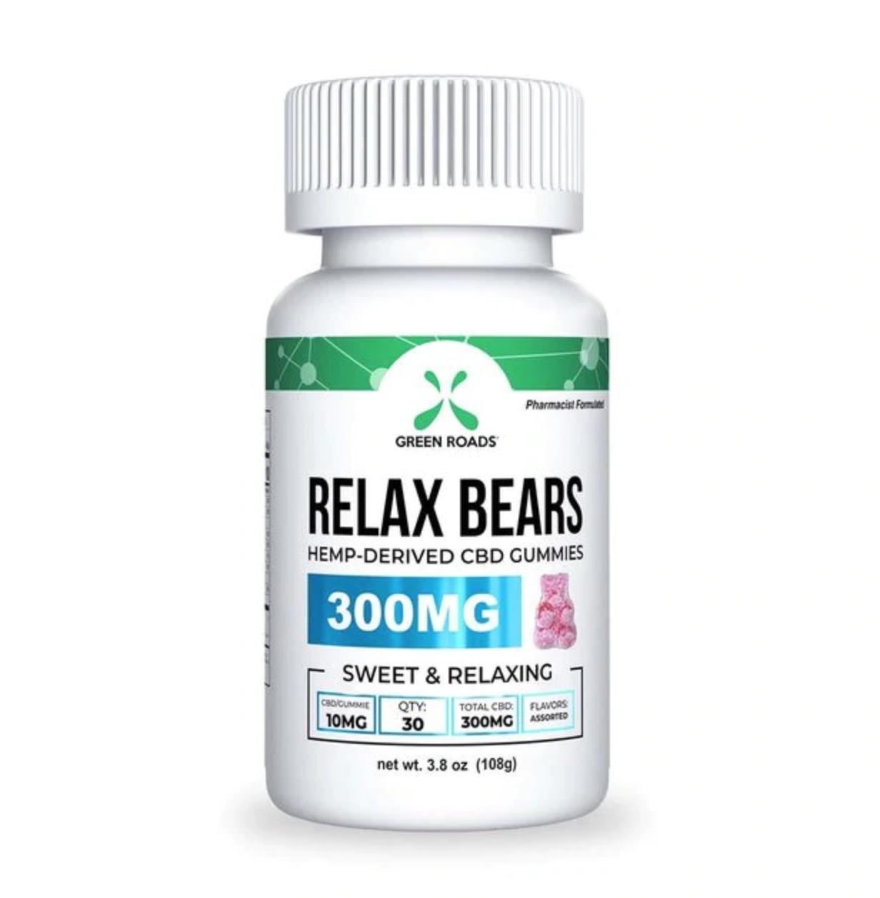 Green Roads Relax Bears 300MG