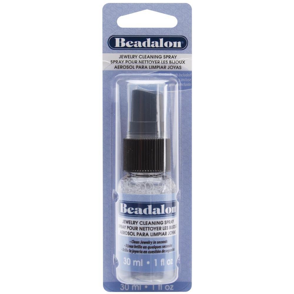 Spray Jewelry Cleaner W/Brush