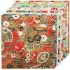 Fold 'Ems Origami Paper 5.875 10/Pkg Yuzen Red