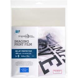 Impress Imaging Ink Jet Print Films 6/Pkg 8.5X11