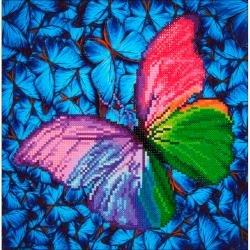 Diamond Dotz Diamond Embroidery Facet Art Kit 15X15-Flutter By Pink