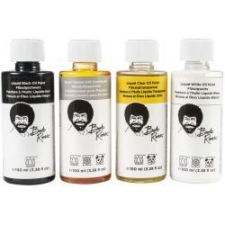 Bob Ross Liquid Value Pack 100ml 4/Pkg