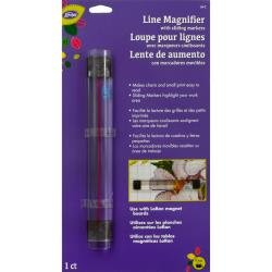 Line Magnifier with sliding markers