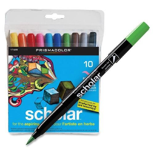 Prismacolor Scholar Brush Tip Art Markers