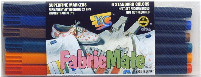 Fabric Mate 6 Markers