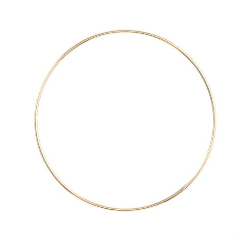 Metal Ring - Gold - 8 inches
