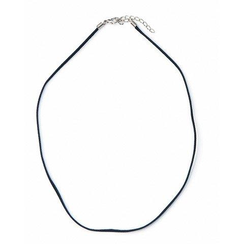 Velvet Necklace Cord - Black - 18 inches
