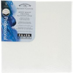 Artists' Quality Stretched 11 oz Cotton Canvas