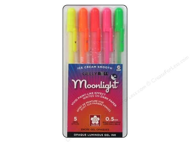 Gelly Roll Moonlight 5 Pens