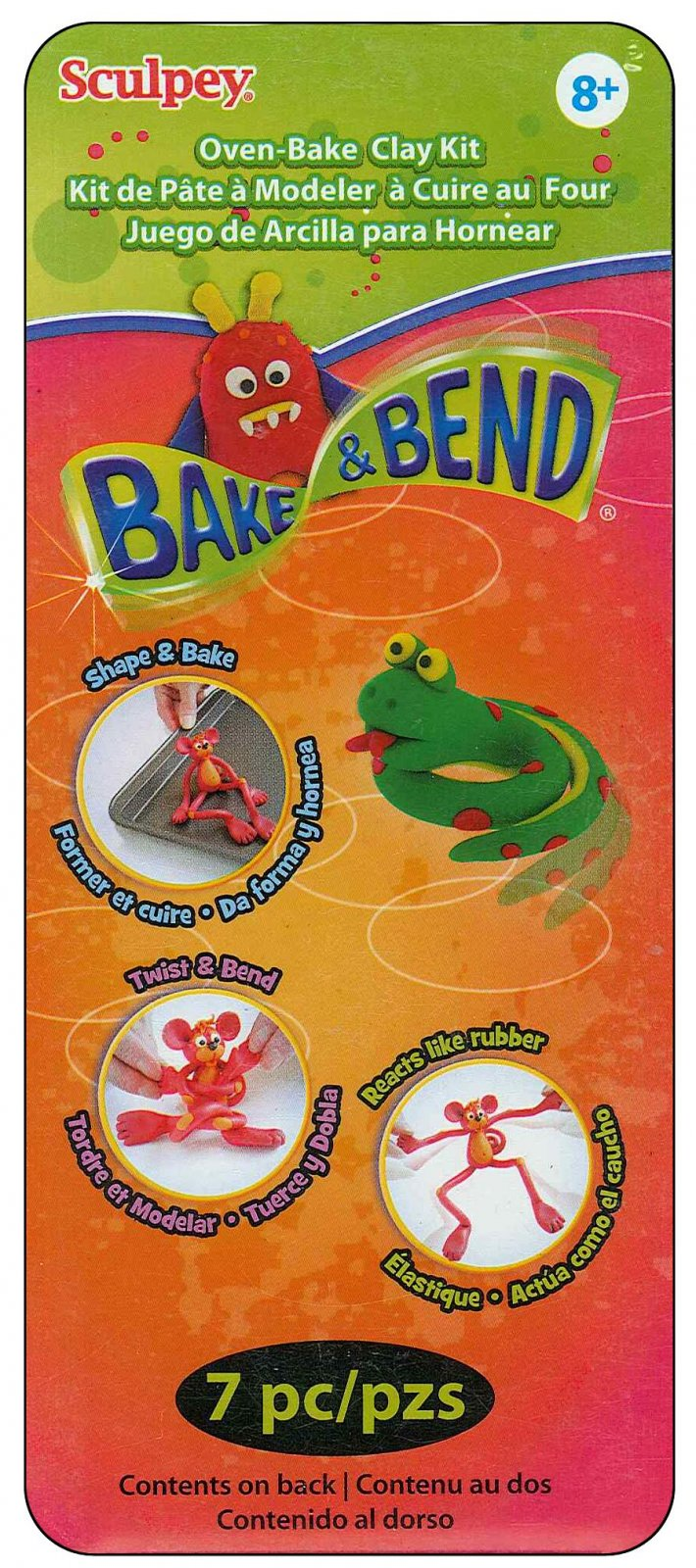 Bake & Bend 7pc Clay Kit