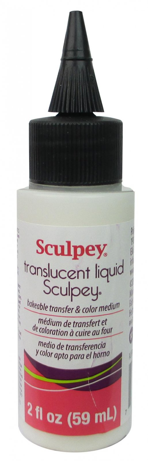 Sculpey Translucent Liquid Bakeable Clay