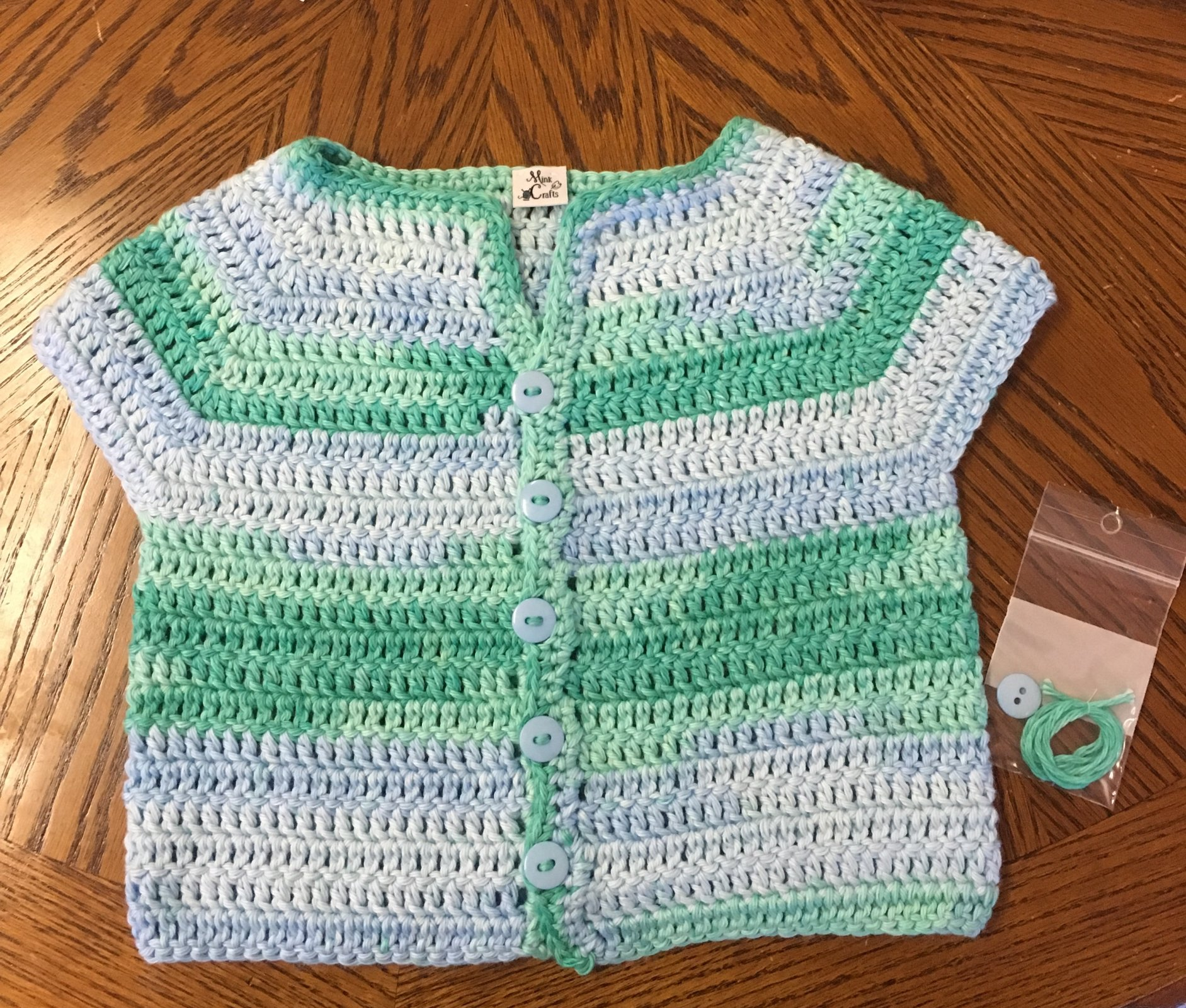 100% Giza Cotton Baby Sweater 6-9 months