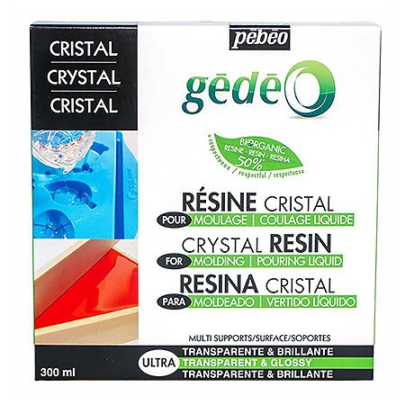 Gedeo Bio-Based Crystal Resin by Pebeo