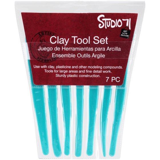 Clay Tool Set 7 pcs