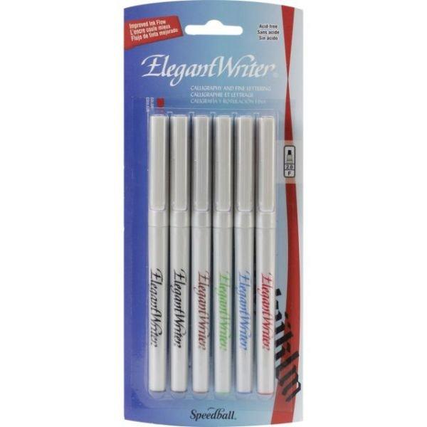 Speedball Elegant Writer 6 Pen Set 2.0