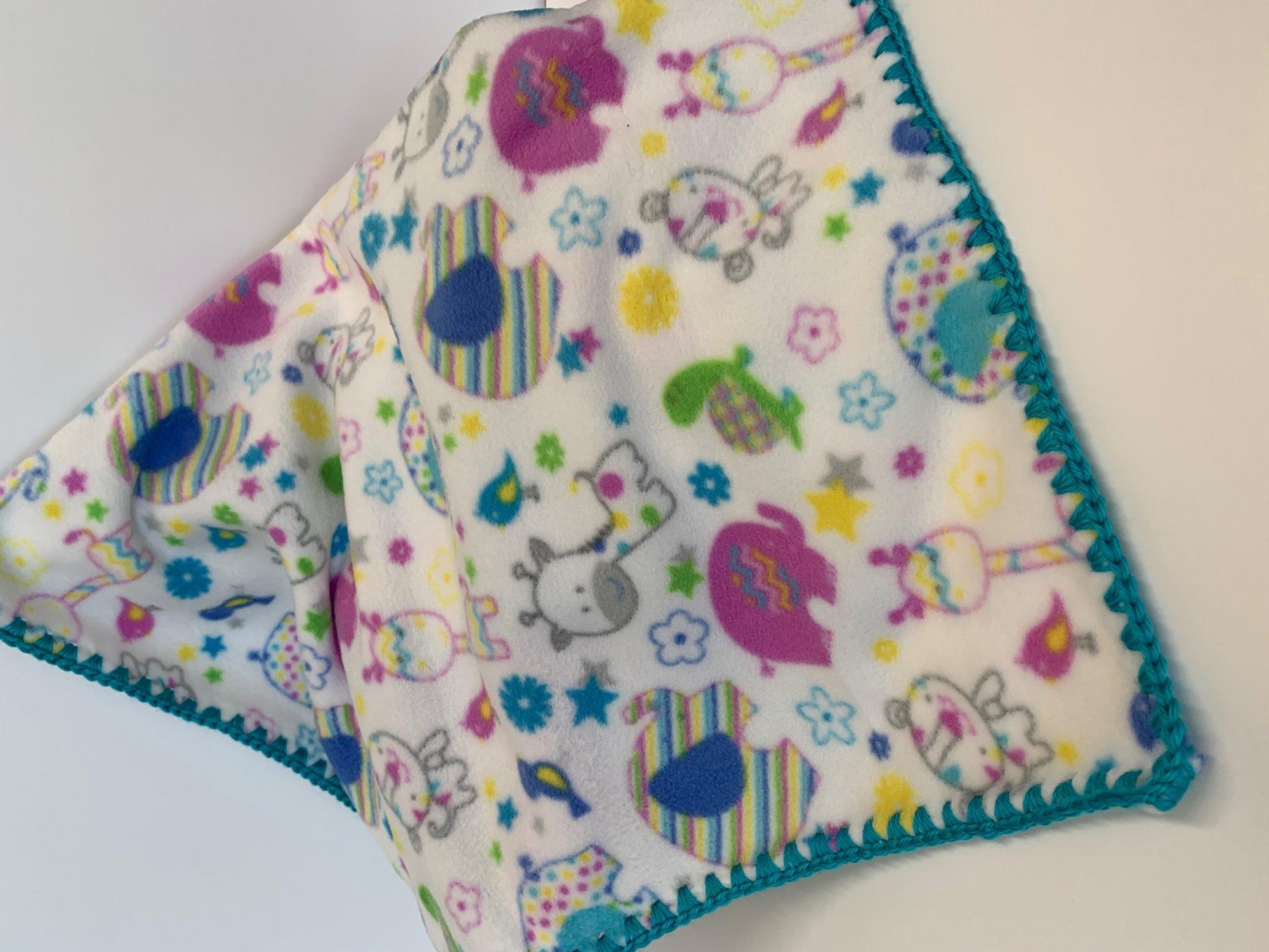 Bright Animal Blanket