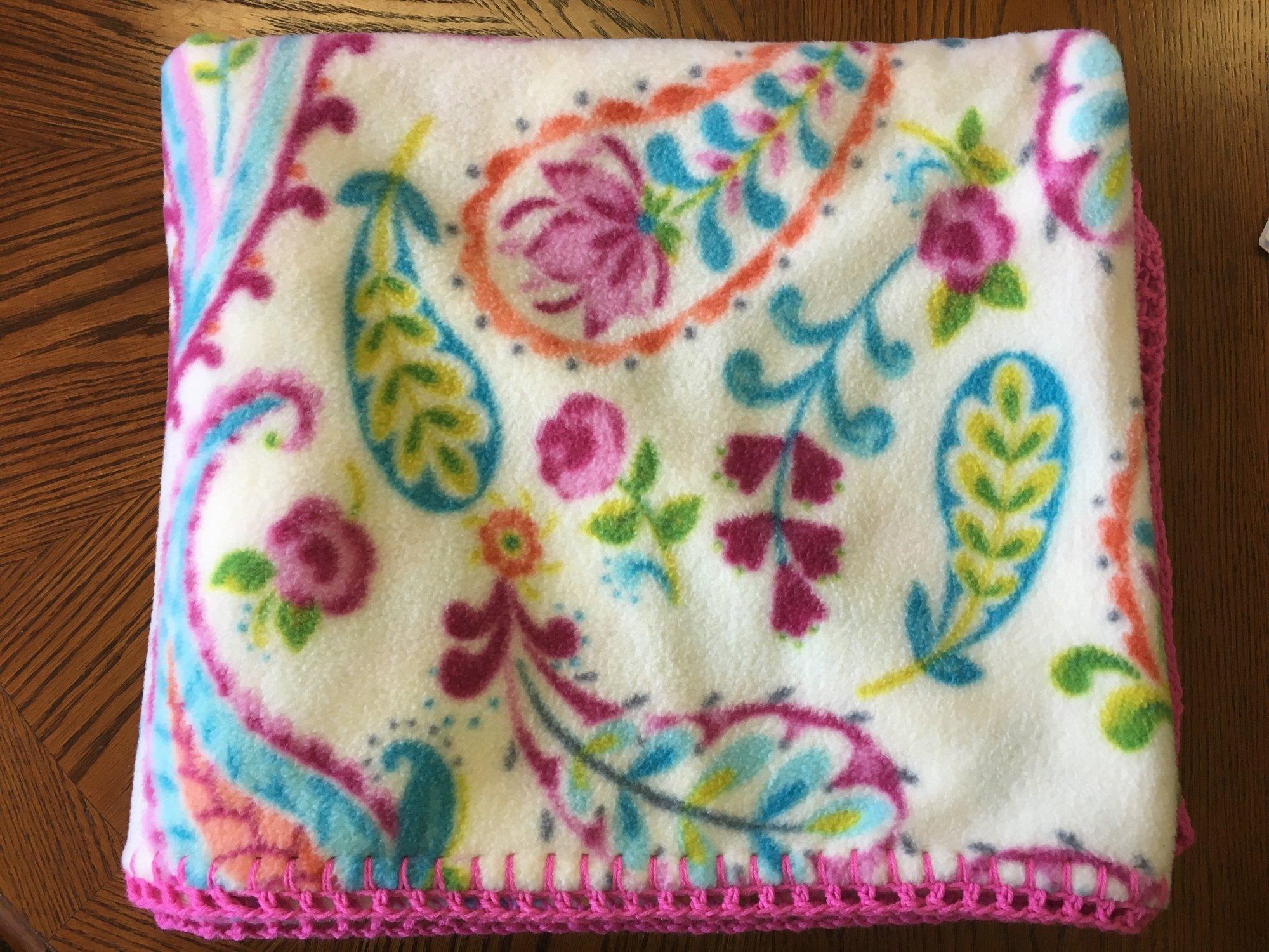 Paisley Blanket 60 x 70