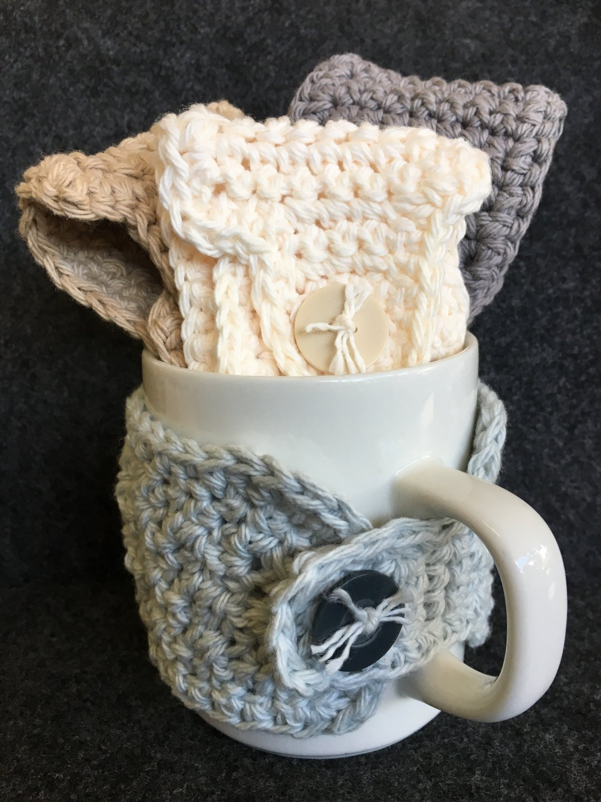 Crochet Mug Cozy - Assorted Colors