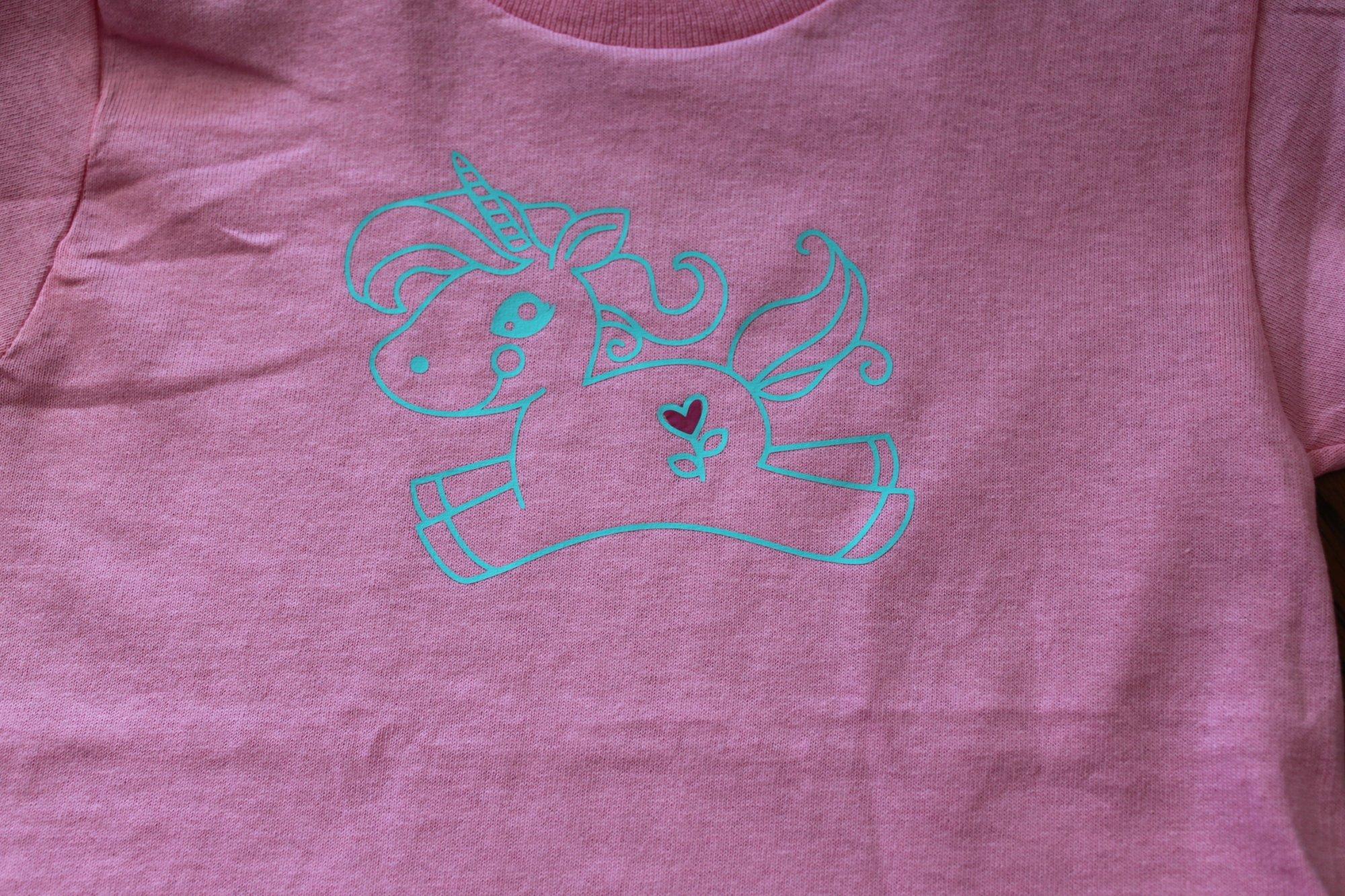 Pink Unicorn T-Shirt Youth X-Small