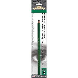 General's Kimberly 9xxB Extra Black Drawing Pencil