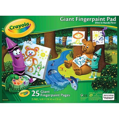 Crayola Giant Fingerpaint Pad 16 x 12