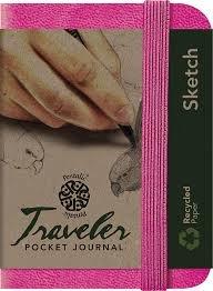 Traveler Sketchbook 4 x 3 - Assorted Colors