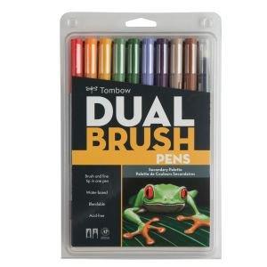 Tombow Dual Brush Pens 10 Pc set