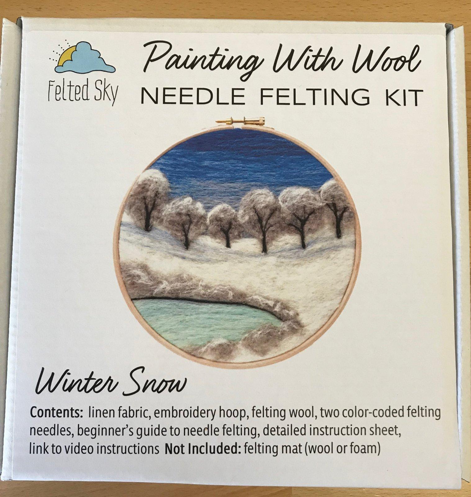 Felted Sky Needle Felting Kits