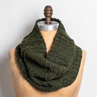Royal oak cowl in green