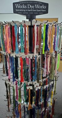Weeks Dye Works floss stand