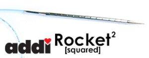 addi Rocket Squared Needles - 24