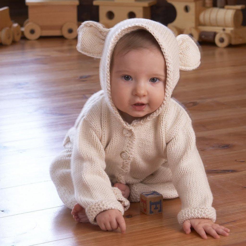 Appalachian Baby Lamb's Ear Cardi