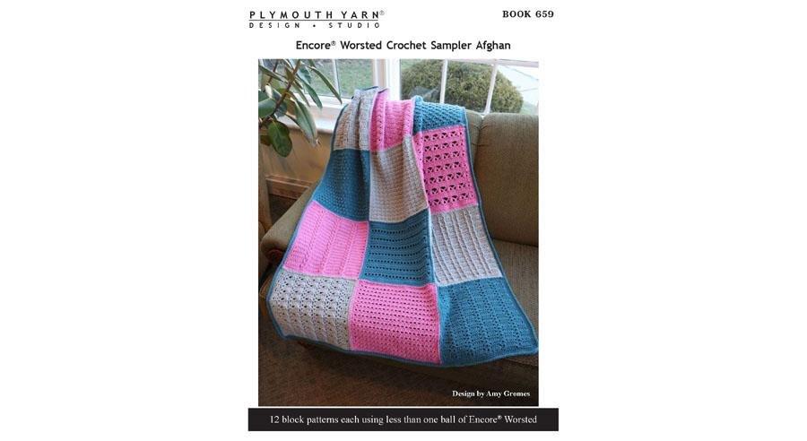 Book 659 - Crochet Sampler Afghan