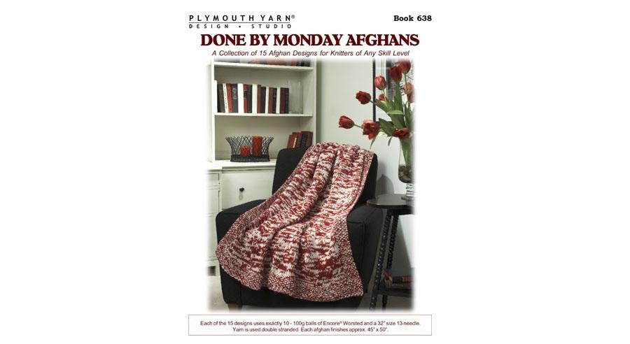 Book 638 - Done by Monday Afghans