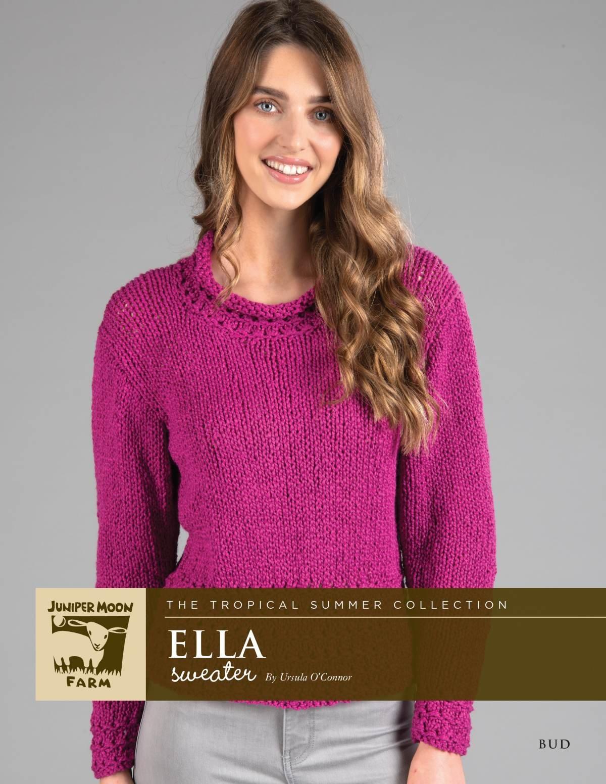 Ella Sweater pattern