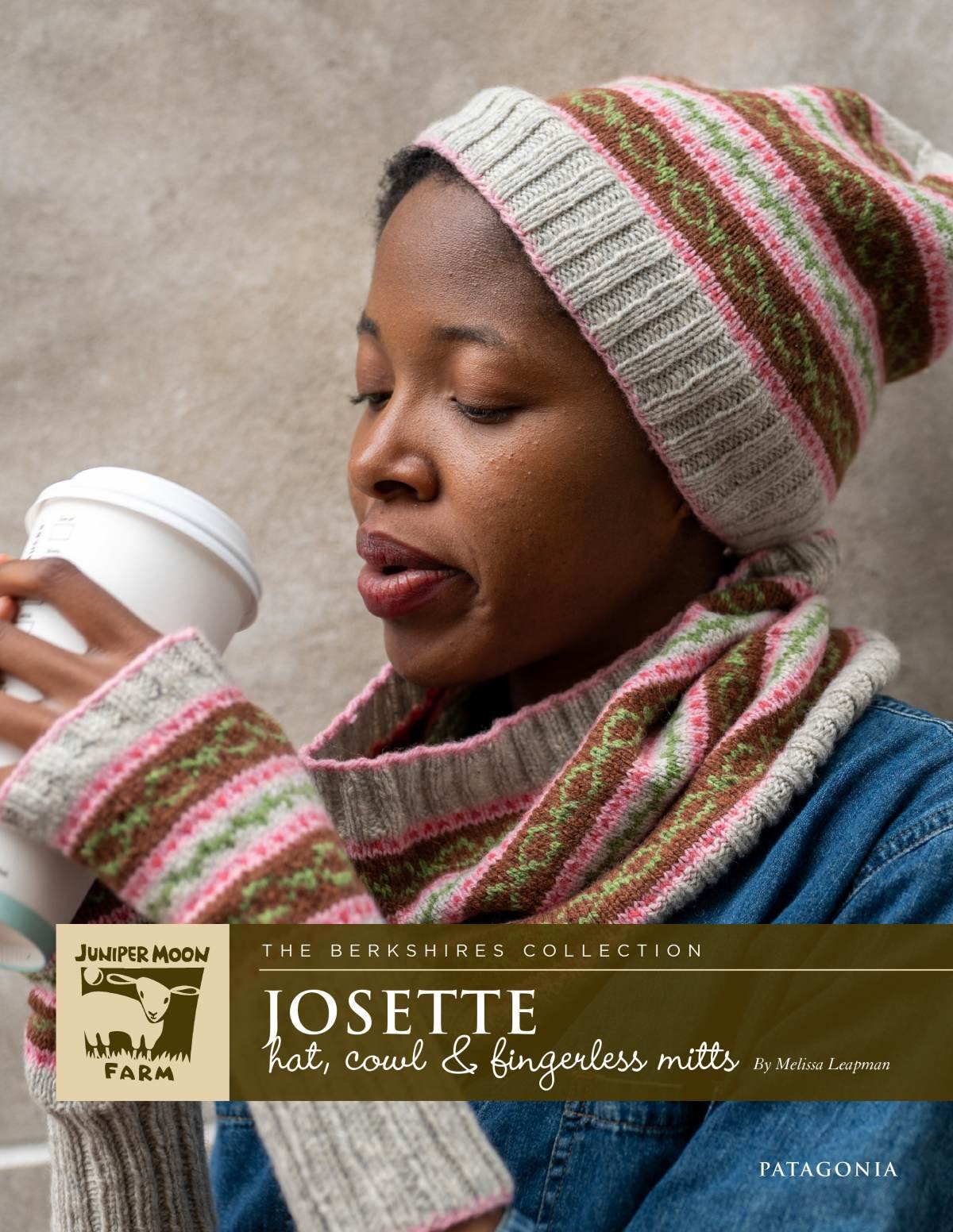 Josette Cowl, Hat, & Fingerless Mitts pattern