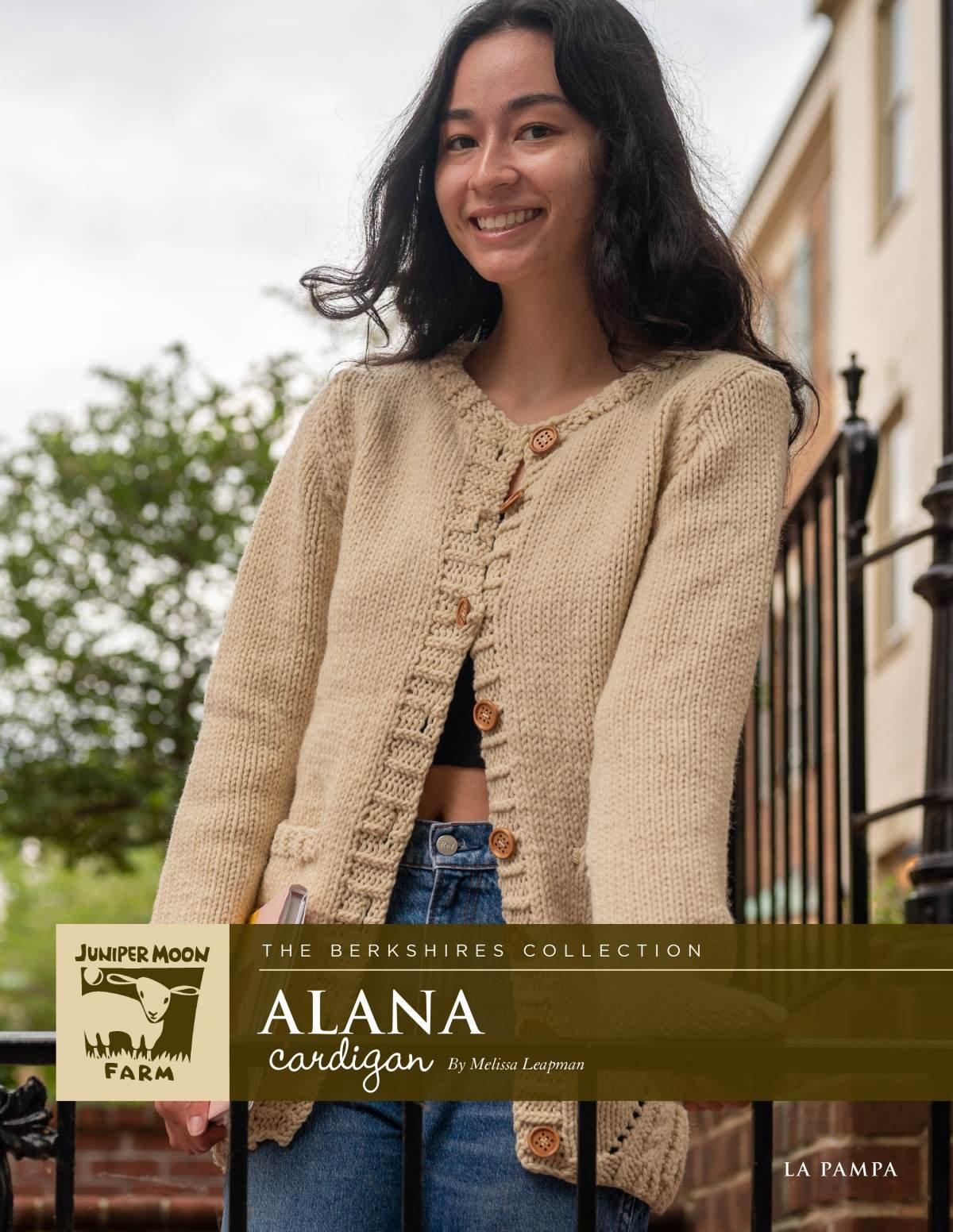 Alana Cardigan pattern