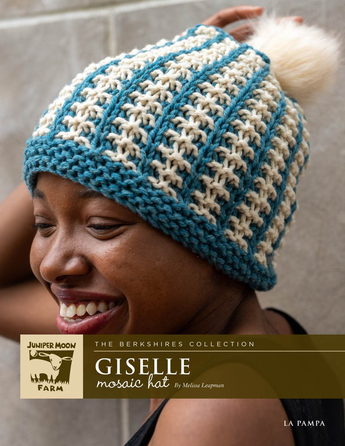 Giselle Mosaic Hat pattern