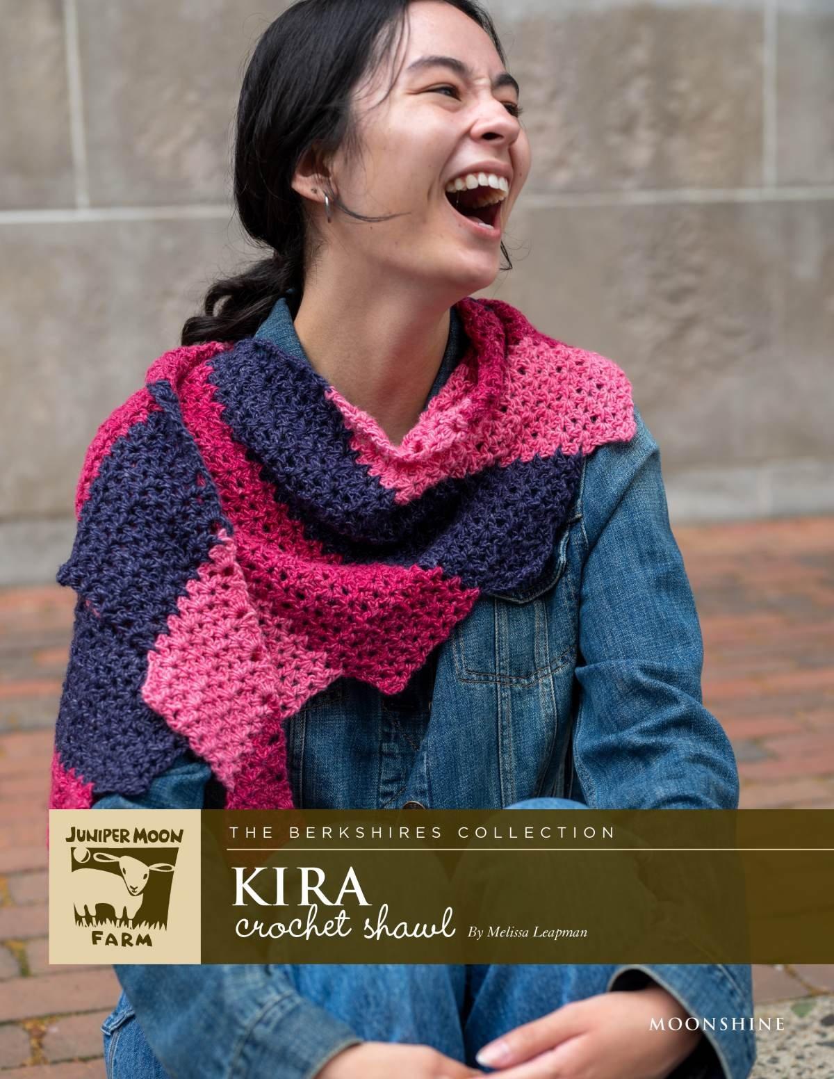 Kira crochet shawl pattern