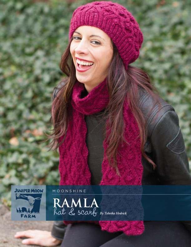 Ramla Hat & Scarf pattern