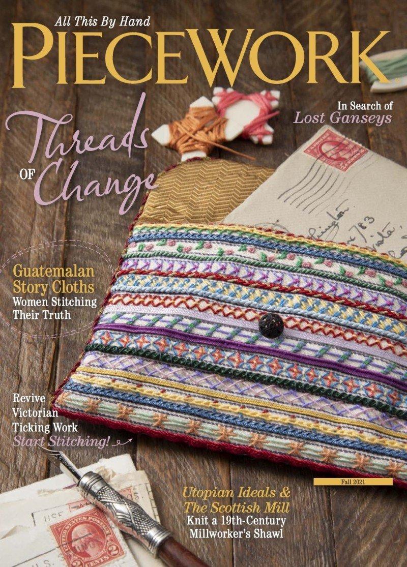 Piecework Magazine - Autumn 2021