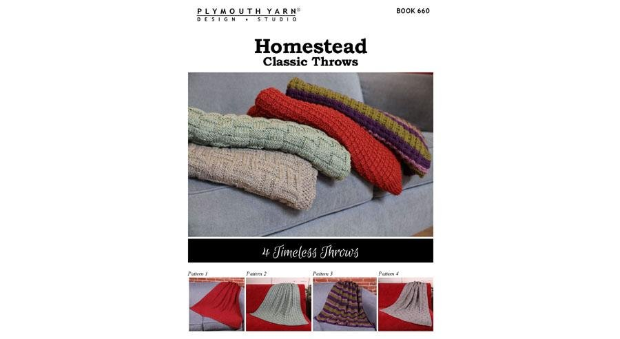 Book 660 - Homestead Classic Throws