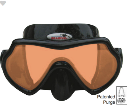 SEADIVE EAGLE EYE RAY BLOCKER HD MASK