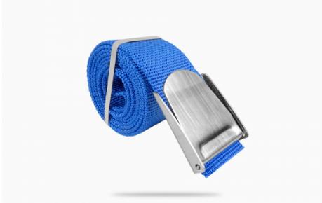 5ft Nylon weight belt webbing w/ Stainless Steel buckle