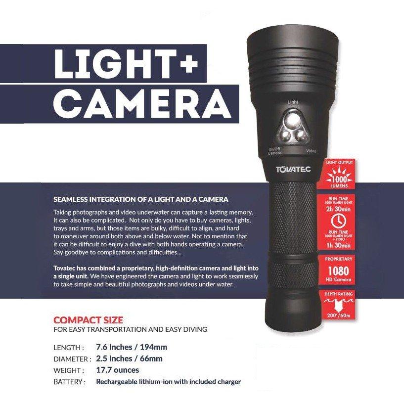 TOVATEC MERA LIGHT+CAMERA